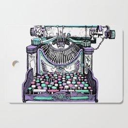 Magical Typewriter Cutting Board