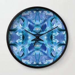 510 - Abstract Garden Design Wall Clock