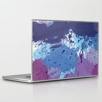 splatter Laptop & iPad Skins featuring Splatter by initiale