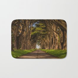 Cypress Tree Tunnel Bath Mat