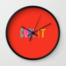 Cool It Wall Clock