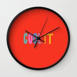 Cool It Wall Clock