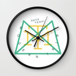 Modern Tribe Clock Wall Clock