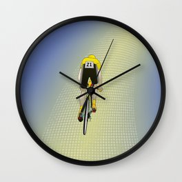 Surrounded by Silence Wall Clock