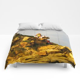 Huichol Sunset Comforters