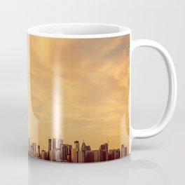 Golden Sunset Cityscape (Color) Coffee Mug