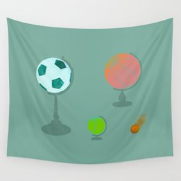 A Comet Appears Wall Tapestry