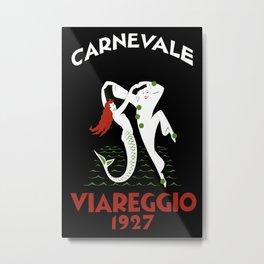 Viareggio Italy - Vintage Travel Metal Print