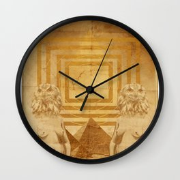 Brave New World Wall Clock