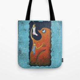 il mostro mangiacalzini Tote Bag