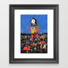 perric Framed Art Print