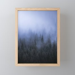 Foggy Forest Framed Mini Art Print