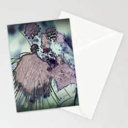 Mysterious Blossom - Liquid Winter Stationery Cards