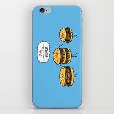 Burger Bullies iPhone & iPod Skin