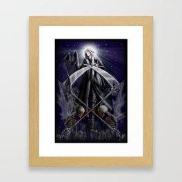 Saint Undertaker Framed Art Print