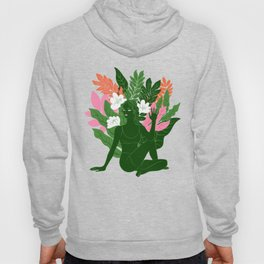 half lord of the fishes pose Hoody