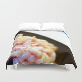 Shrimp Duvet Cover