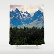 Wanderlust Awaits Shower Curtain
