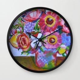 Bouquet after Ken Wall Clock