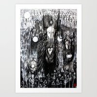 The Wild Procession Art Print