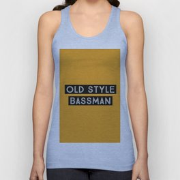 Old style #4 Bassman Unisex Tank Top