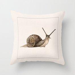 snail II Throw Pillow