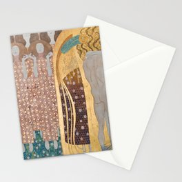 Gustav Klimt - Beethovenfries Stationery Cards