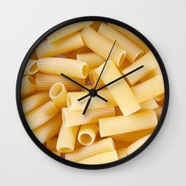 Rigatoni Wall Clock