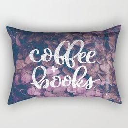 Coffee + Books Rectangular Pillow