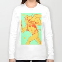 runner Long Sleeve T-shirts featuring Runner by gallerydod
