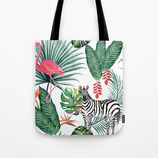Nature Zebre pattern Tote Bag