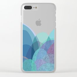 It is not the mountain we conquer but ourselves Clear iPhone Case