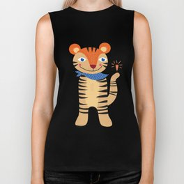 Little Tiger Biker Tank
