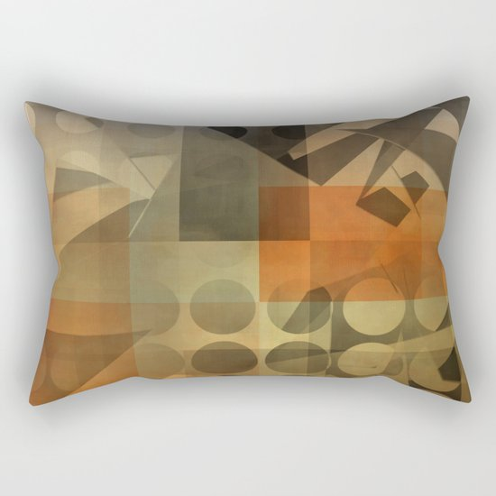 lack of focus Rectangular Pillow