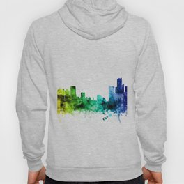 Detroit Michigan Skyline Hoody