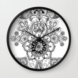 mothersday doodlings Wall Clock