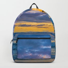 Ruby's and Catalina at Sunset Backpack
