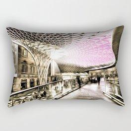 Futuristic London Art Rectangular Pillow