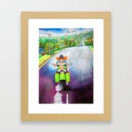 E Z-Rider Framed Art Print