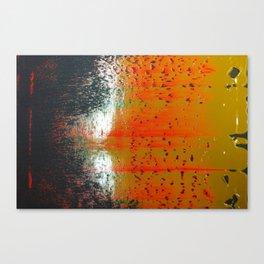 Bio-morphic Acid Wash Canvas Print