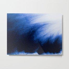 Indefinite Blue Metal Print