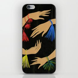 Tasseled Hands iPhone Skin