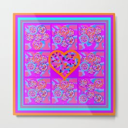Imaginative Space About Love Metal Print