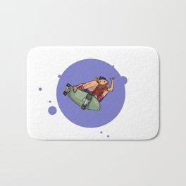Cruisin Blue Skater Bath Mat