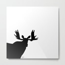 Simply moose 1 Metal Print
