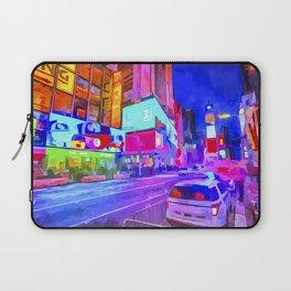 Pop Art Times Square Laptop Sleeve