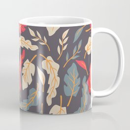 Vintage Floral Pattern 009 Coffee Mug