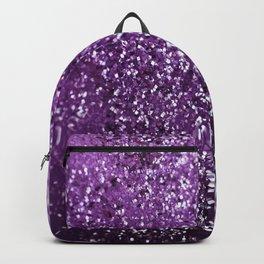 Purple Glitter #1 #decor #art #society6 Backpack