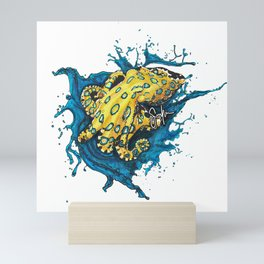 Blue-ringed octopus Mini Art Print