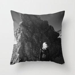 Volcanic View Throw Pillow